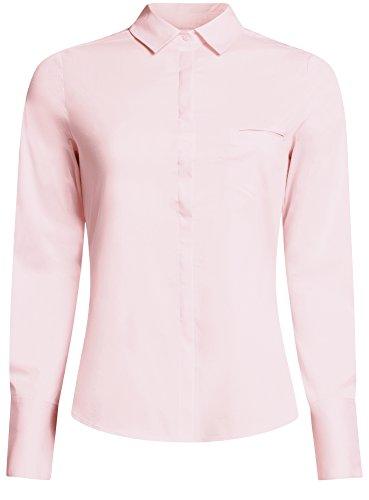 4000n Chemise Rose Femme Ultra oodji Basique Une avec Poche q08wAEwxB