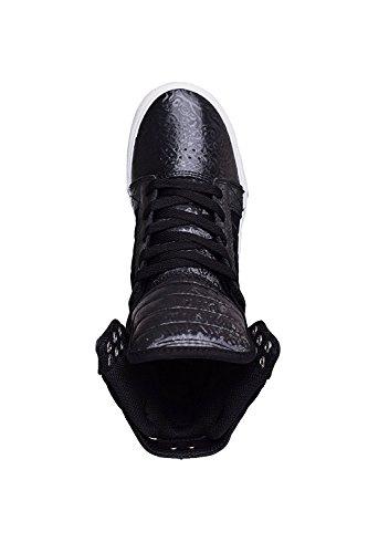 Supra WOMENS SKYTOP Damen Hohe Sneakers Black