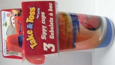 Cars Take And Toss Cups 20 pcs sku# 905569MA by Learning Curve (Image #1)