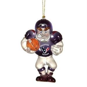 (Houston Texans Acrylic Football Player Ornament)