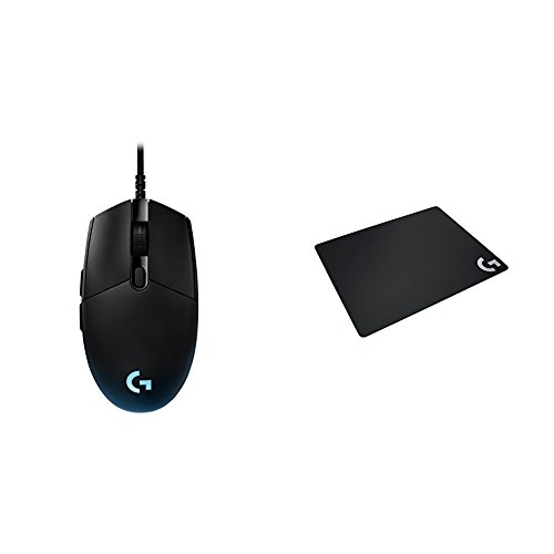 313db56unnL - Logitech-G-Pro-Gaming-FPS-Mouse-Logitech-G240-Cloth-Gaming-Mouse-Pad-for-Low-DPI-Gaming-bundle
