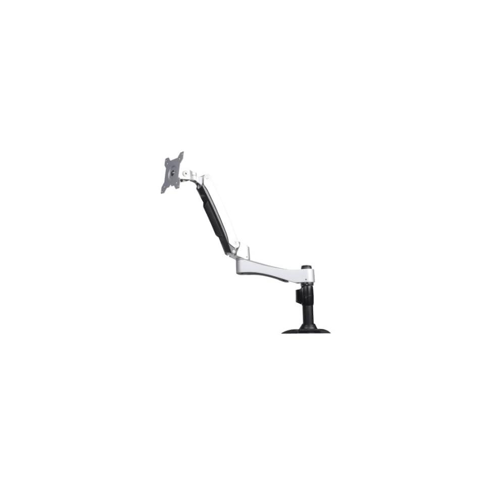 Silverstone Tek ARM One Articulating Single Arm Computer Monitor Desk Mount/Mounting Bracket (ARM11SC)