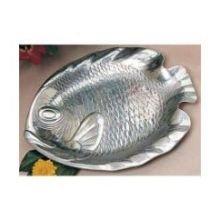 Bon Chef Sandstone Small Fish Shaped Platter, 8 3/4 x 11 1/4 inch - 1 each.