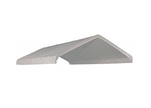 10' X 20' Frame Canopy Replacement Cover (White) Canopymart TVT1220-W23