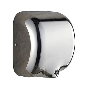 Secadores de mano para Baño Pequeño, Montaje en Pared, Acero Inoxidable, 17x29x32CM