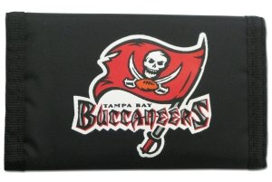 NFL Tampa Bay Buccaneers Nylon Trifold Wallet