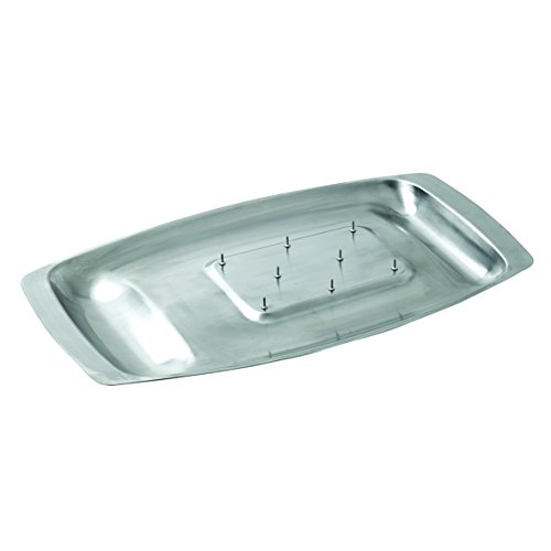 - Dexam Chichester carving dish with spikes, s/s 45 x 27cm