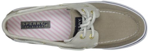 Sperry Top-Sider - Bahama 2-eye, Stringate donna, color Marrone (Stone/Light Pink), talla 39 EU / 5,5 UK