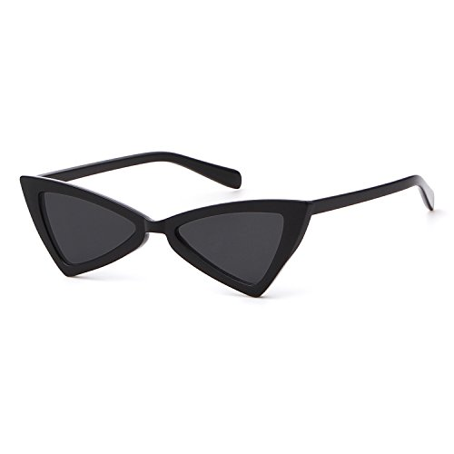 Metal Hinge Women Butterfly Cat Eye Sunglasses Fashion Triangle - Eye Face Cat Glasses Square For