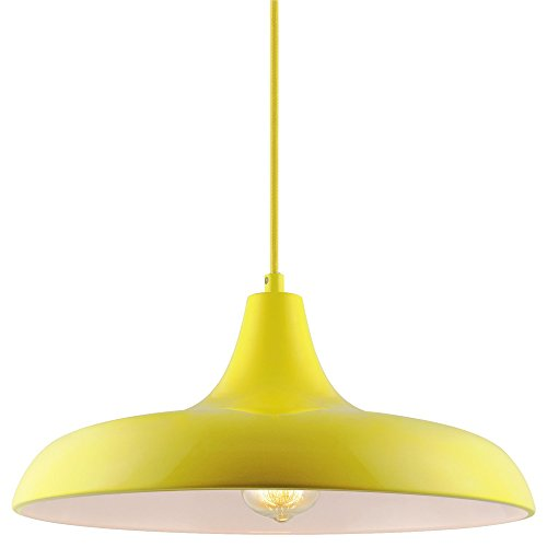 (Sunlite CF/PD/N/Y Yellow Nova Residential Ceiling Pendant Light Fixtures with Medium (E26) Base)