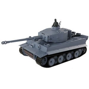 Radio Remote Control Smoke & Sound 1:16 2.4G RC German Tiger I Battle Tank-Cretamarket by Cretamarket