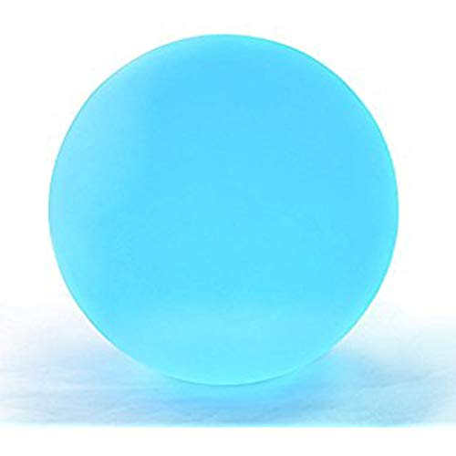 Set Of 12 Mood Light Garden Deco Balls (Light Up Orbs) With Two 5-Packs Of Spare Replacement Batteries - Bundle: 14 Items