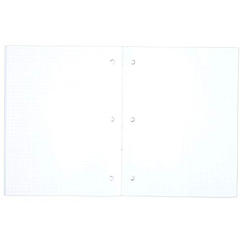 Mead Graph Paper Pads, Quadrille, 4 Squares per Inch, 11'' x 8-1/2'', 20 Sheets, 48 Pads/Pack (73852) by Mead (Image #2)