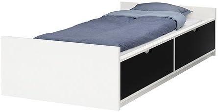 Amazoncom Ikea Twin Size Bed Frame Wstorageslatted Bedbase