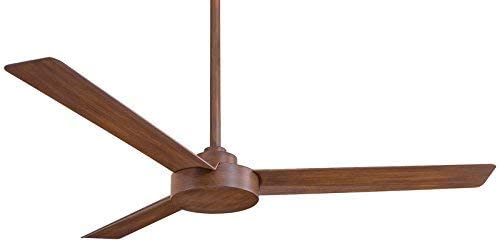 Minka Lavery F524-DK Downrod Mount, 3 Distressed Koa Blades Ceiling fan, Distressed Koa