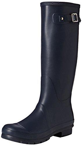 Damen Original Tall Schnee Winter Regen Wellies Gummistiefel Stiefel Marine Original