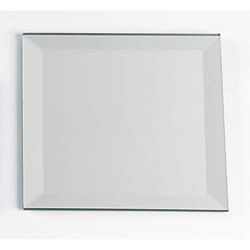 - Darice Bulk Buy DIY Mirror Square with Beveled Edge 4 inches (6-Pack) 1633-78