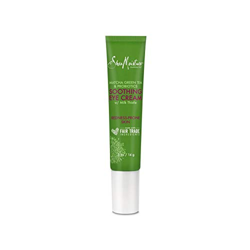 SheaMoisture Matcha Green Tea And Probiotics Soothing Relief Eye Cream .5oz, pack of 1