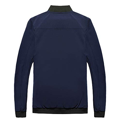 Baseball Hiver Longues Day Mode Taille Outwears Tops Automne Hommes Loose Hoodies Date Manches Bleu Pocket Grande lin Casual Manteaux Shirt wpqraPpXx