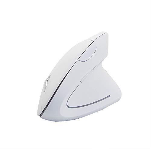 (MChoice❤️Wireless Mouse 2.4GHz Game Ergonomic Design Vertical Mouse 1600DPI USB Mice (Black))