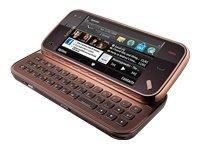 Nokia N97 mini Smartphone (UMTS, WLAN, GPS, 5 MP, Ovi Karten, QWERTZ-Tastatur) garnet