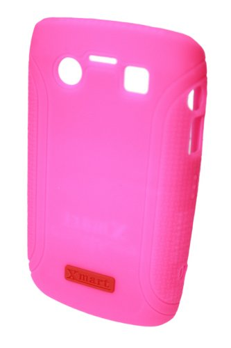 Xmart BC311 Xmart Silicone Protective Case for Blackberry 9700/9780 - 1 Pack - Retail Packaging - Pink