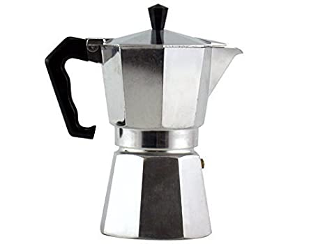 Amazon.com: Junior Express Coffee Maker, aluminio, plata, 2 ...