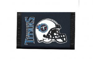 Rico Industries NFL Tennessee Titans Nylon Trifold Wallet