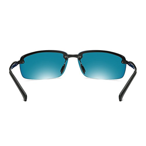 conducción Gray los Color Gafas espejo equitación libre Gray espejo de de de magnesio de sol nuevo blue polarizadas hombres ultra de al ice frame brillante lens de Lens espejo Ice Blue deportivo aluminio aire Frame wSR4qwU