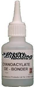 Adhesive Dispensing Ltd - Superglue Debonder/ Remover 50ml Bottle Protac DB50