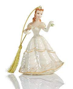 (Belle Collectible Christmas Ornament from Disney's Show Case Beauty and The Beast)