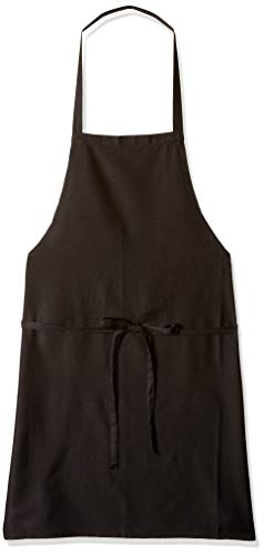 Heselian Professiona lWhite Bib kitchen Apron, Cooking Apron, Chef Aprons, Apron for Women, Apron For Men, Durable, Machine Washable, Comfortable