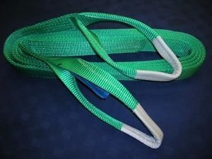 Secure Fix Direct 2 Ton 1 Metre Duplex Web Sling - 2000Kg Lifting Strap Strop Reinforced Two