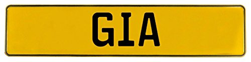 Vintage Parts 649139 Yellow Stamped Aluminum Street Sign Mancave Wall Art (Gia)