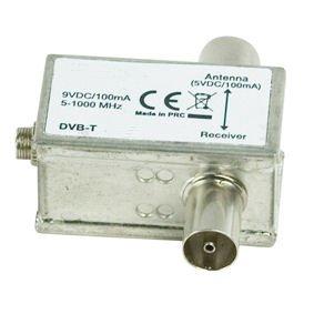 ex pro 9v dvb t power inserter for actrive dvb t amazon co uk