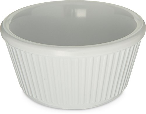 - Carlisle S28702 Melamine Fluted Ramekin, 4 oz. Capacity, White (Case of 48)