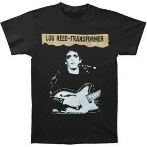 Lou Reed Men's Transformer T-shirt Black