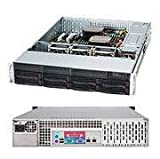 Supermicro CSE-825TQ-563LPB 560W 2U Rackmount Server Chassis (Black)