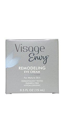 Visage Envy Remodeling Eye Cream, 0.5 Ounce