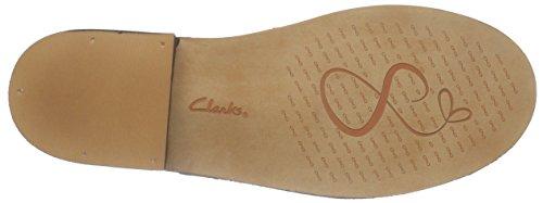 ClarksCabaret Charm - Sandalias de Talón Abierto Mujer Negro (Black Leather)