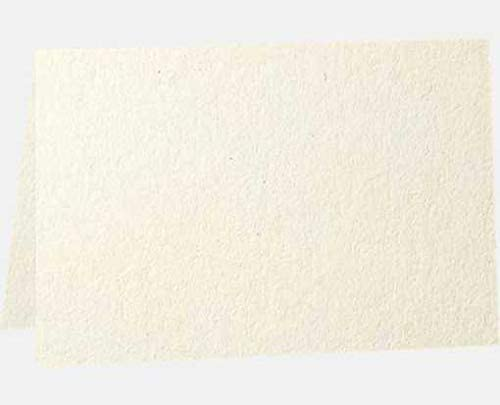 100/% Recycled Pack of 250 Natural 4 1//4 x 5 1//2 A2 Folded Card - 80b