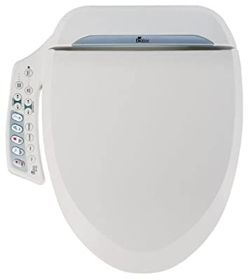 Bio Bidet Ultimate Advanced Bidet Toilet Seat BB-600 Elongated (Renewed)