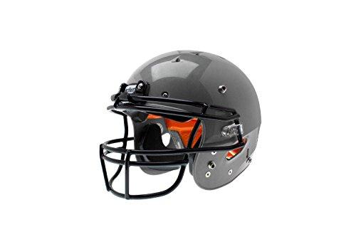 silver football helmet - 7