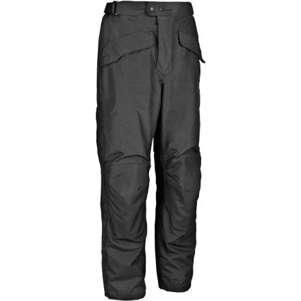 Firstgear Men's HT Overpants Shell (Black, Size 34 Tall)