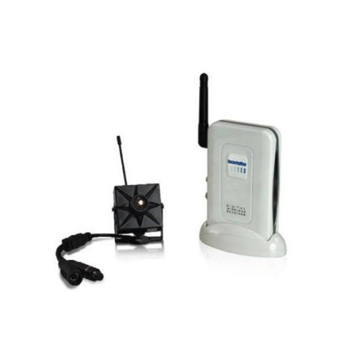Securityman DigiminiAir Digital Wireless Mini Indoor Camera Kit with Audio (Black)