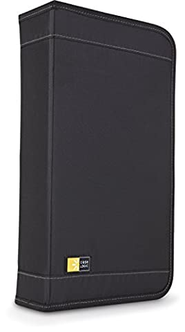 Case Logic CD/DVDW-64 72 Capacity Classic CD/DVD Wallet (Black) (Disk To Clean Computer)