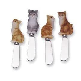 Cheese Spreader S/4-Cats