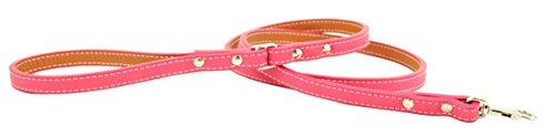 Tuscany Dog Leash Size  0.5  x 48 , color  Pink