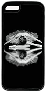 Black And White Beautiful Ballet Dancer Theme Iphone 5C Case
