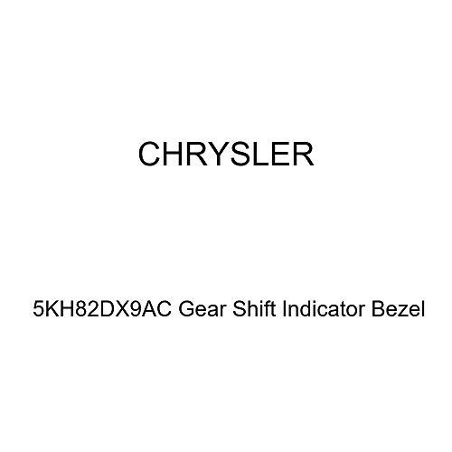 - Genuine Chrysler 5KH82DX9AC Gear Shift Indicator Bezel